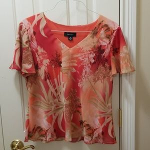 R&M Richards blouse sz 16